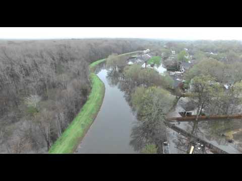 Deborah Drive West End Flooding Monroe Louisiana March 12, 2016