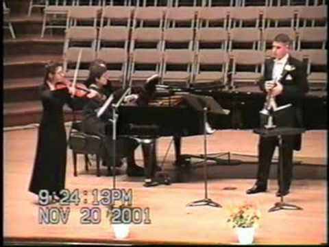 Trio for Trumpet, Violin & Piano (Eric Ewazen) - I...