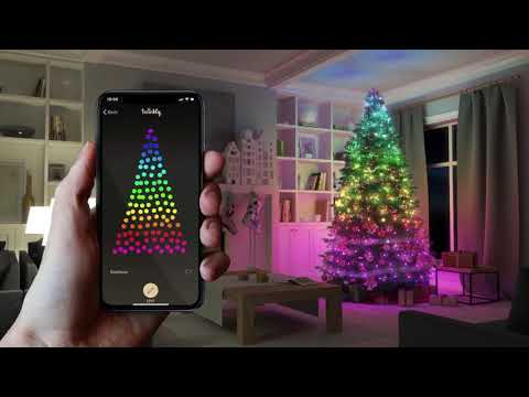 Twinkly App Controlled Smart Christmas Lights - Christmas Designers