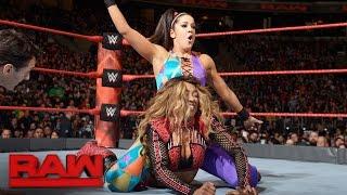 Bayley vs. Alicia Fox: Raw, Dec. 12, 2016