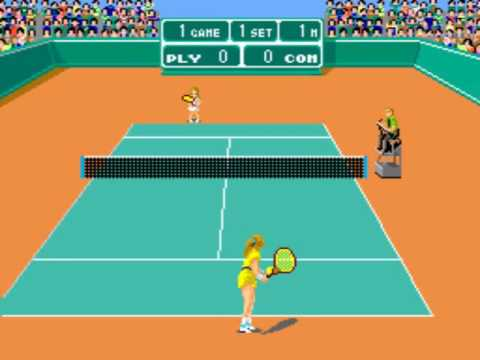 Forty Love ~1984 Taito tennis~ Arcade MAME 40love