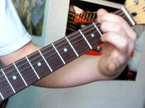 How To play 45 by shinedown