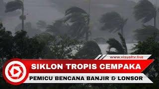 Siklon Tropis Cempaka, Pemicu Bencana Banjir Longsor di Yogyakarta dan Pacitan