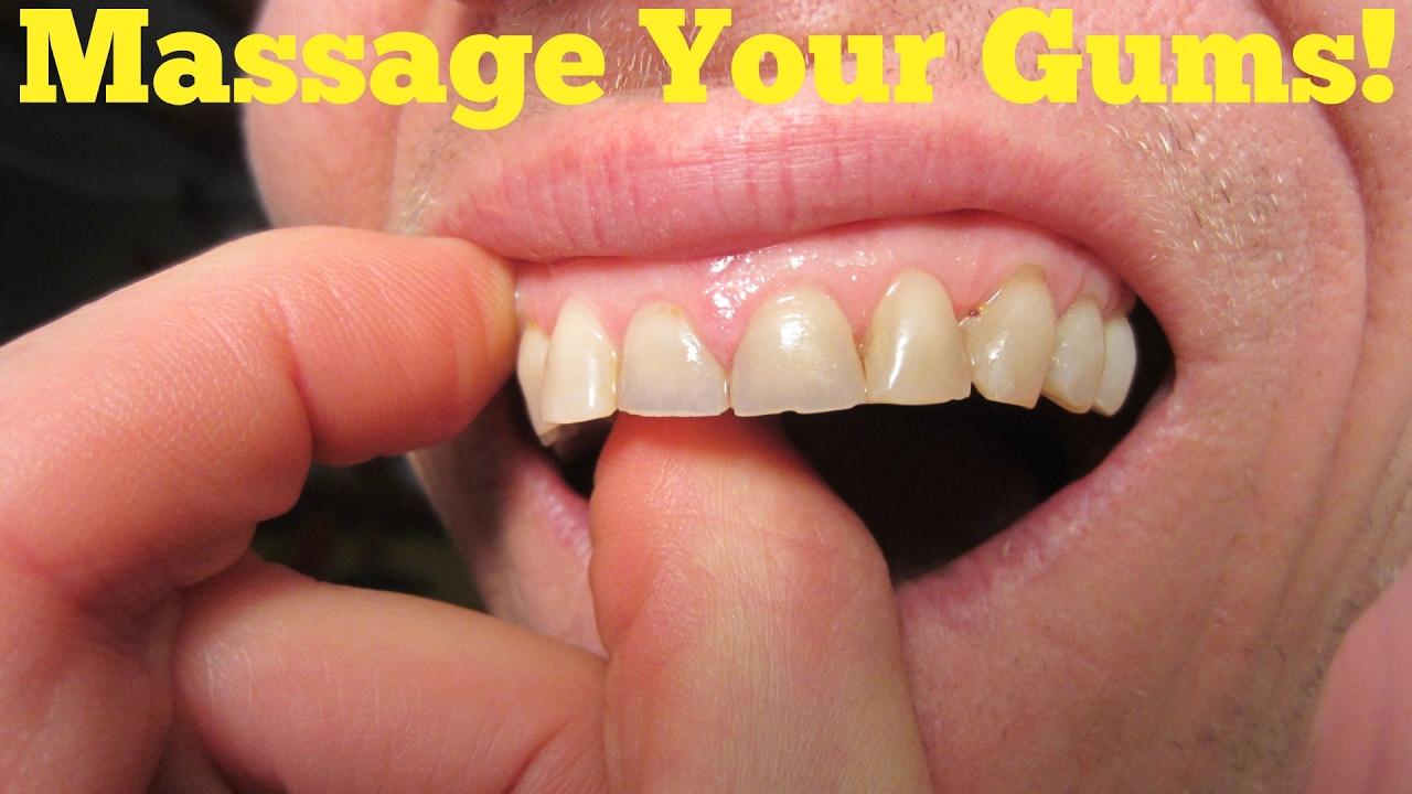 Gum Disease Treatment Natural Remedies Massage Your Gums