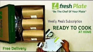 Fresh Plate, Weekly Meals Ready to Cook and delivered to your home