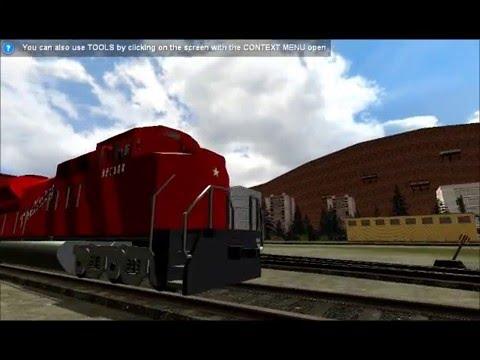 Railfanning on FC&N server