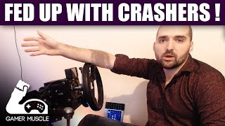 FED UP OF GETTING CRASHED ! - Gran Turismo Sport - F1 2017 - Project Cars 2 - Assetto Corsa