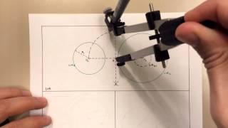 105 - Rectas tangentes exteriores a dos circunferencias