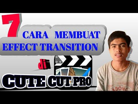 Tutorial Edit CUTE CUT Pro Untuk Pemula (ccp Efek Transisi)