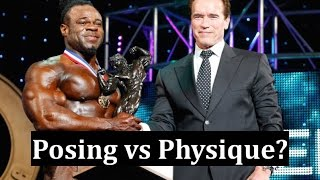 Arnold's Reaction to Kai's Win - Posing vs Physique