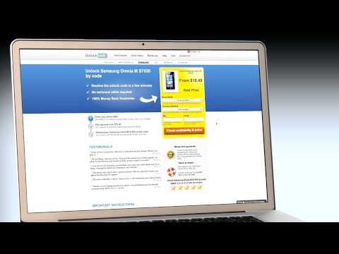 UNLOCK Samsung Omnia M S7530 - HOW TO UNLOCK YOUR Samsung Omnia M S7530