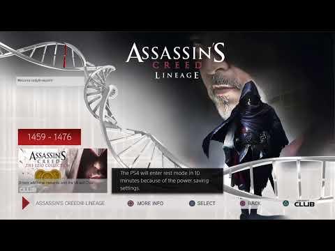 Ps4 Tzc Assassin S Creed Linage Movie Ezio Dad Giovanni
