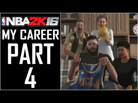 "NBA 2K16 - MyCareer - Let's Play - Part 4 - ""College, Freshman Year (UCLA Bruins)"""