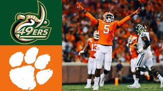 Charlotte vs 1 Clemson Highlights  NCAAF Week 4  College Football Highlights