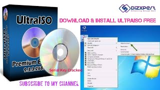 Gambar cover How to download and install Ultra ISO for free | crack