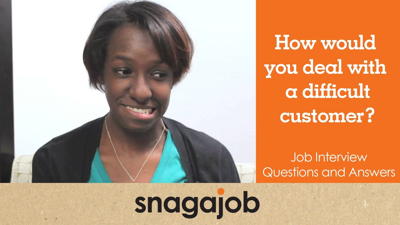 job interview questions and answers part 12 how would you deal job interview questions and answers part 12 how would you deal a difficult customer