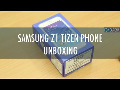 Samsung Z1 Unboxing - Tizen OS SmartPhone
