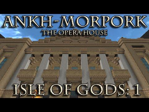 Ankh-Morpork in Minecraft: Isle of Gods 1 - The Opera House