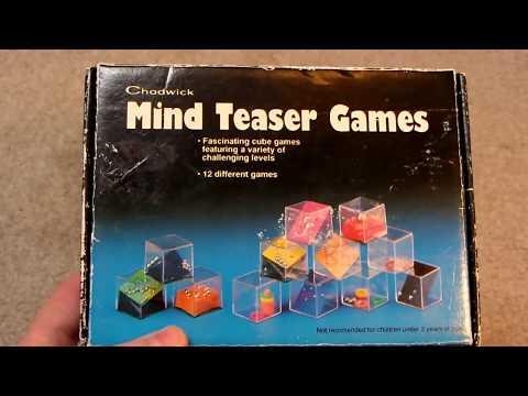ebay Unboxing: Vintage 1993 Chadwick Mind Teaser Games (Ball Bearing Dexterity Cubes)