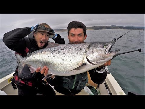 I Still Cannot Believe We Caught This Fish!! Salmon Redemption!!!