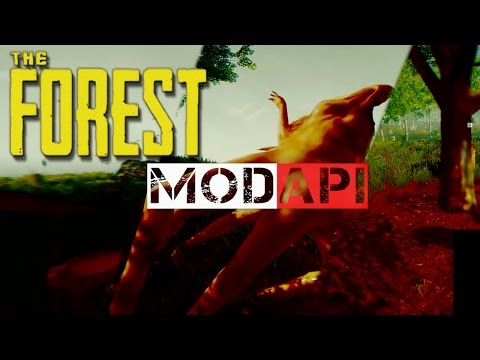 ►ModAPI Cheat/Machinima Tool~ Flying, Item Spawning, Instant Build and more! | The Forest