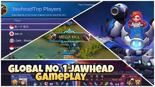 Jawhead Global No 1 | KDA- 12/3/7 | Mobile Legend Bang Bang Full Gameplay