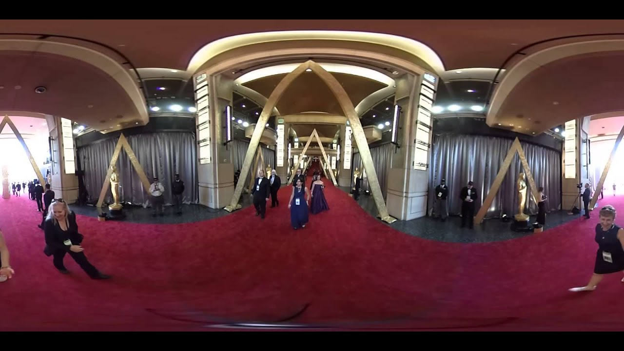 360 Video 2016 Oscars Red Carpet Outside Dolby Theater