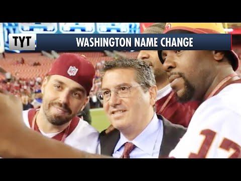 The REAL Reason For Washington's Name Change