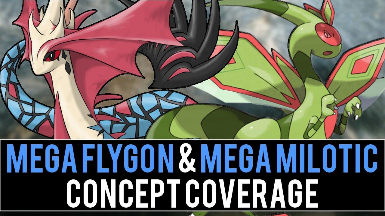 Mega Flygon Amp Mega Milotic Concept Coverage Pok 233 Mon Omega