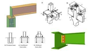 Жесткие и шарнирные узлы в строительных конструкциях