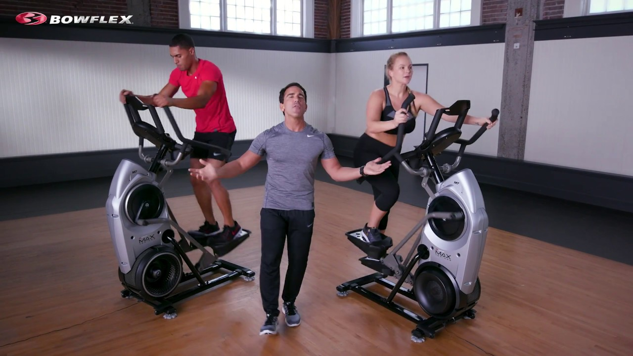 Try Bowflex Max >> Beginner's Guide to the Bowflex Max Trainer Workout - YouTube