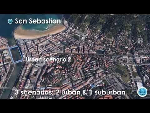 ARGUS Project results: 3D Sound Navigation  (Urban Scenario 2)