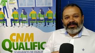 Amupe: O técnico da CNM, Hilton Silva fala sobre o CNM Qualifica de tema Censo 2020