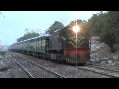 Ever Green Train Of Pakistan Railways 27 Up Shalimar Express Dept: From Karachi Dated 16-04-2017