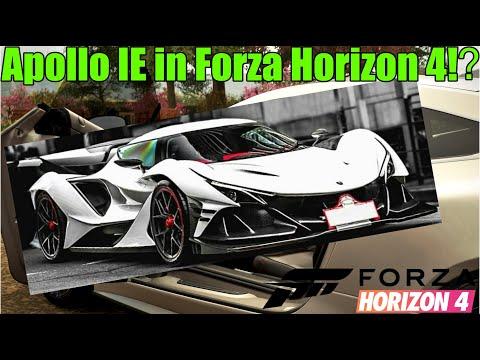 Forza Horizon 4 News - Der Apollo IE kommt nach Großbritannien!?