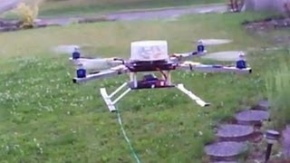 Xcopter Scratch Built With A Hk I86 Controller