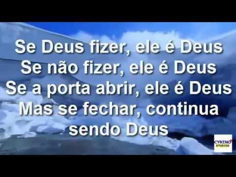 2016 07 06 Deus é Deus   PLAY BACK   Delino Marçal Com Letra