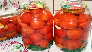 Маринованные помидоры с лимонной кислотой на зиму. Рецепт помидор без уксуса