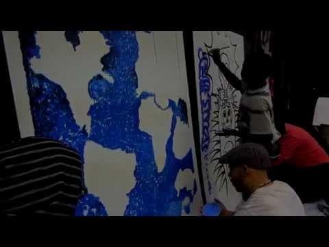 Spirit Panel Mural making @STAG Windsor February 2015