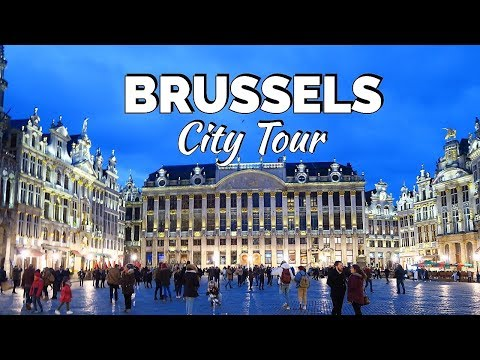 BRUSSELS City Tour / Belgium