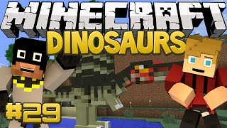 Minecraft Dinosaurs Mod (Fossils and Archaeology) Series, Episode 29 - When Did He Get So Big?