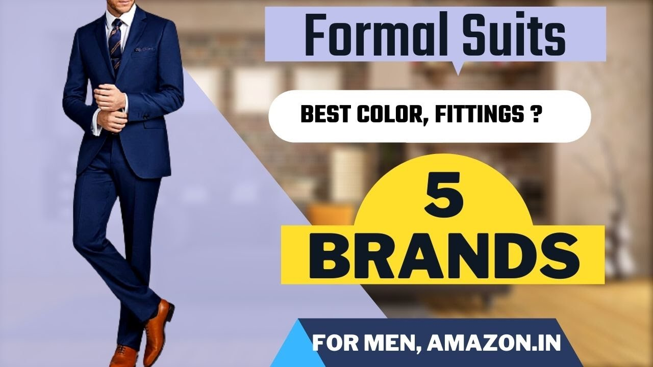 Suits For Men Buy Mens Suits Online At Best Prices In India Formal Suits For Men Youtube