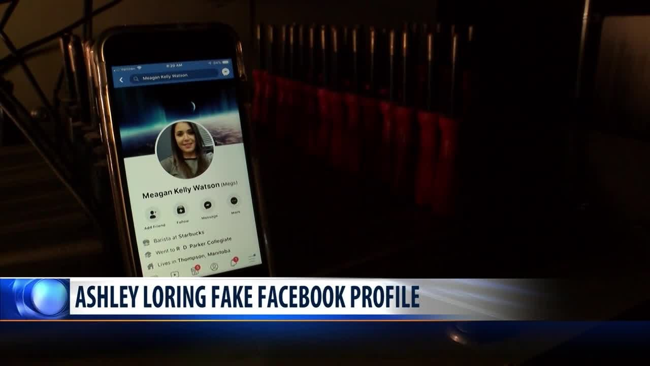 Ashley Loring's pictures being used in fake Facebook profile