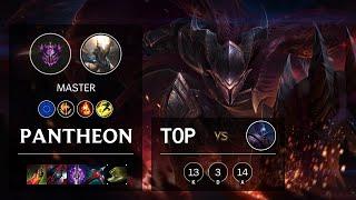 Pantheon Top vs Jax - EUW Master Patch 10.21
