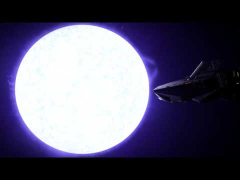 Fast rotating Super Blue Giant