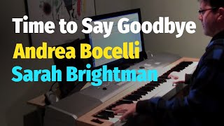Time To Say Goodbye (Con te partirò) - Sarah Brightman & Andrea Bocelli - Piano Cover
