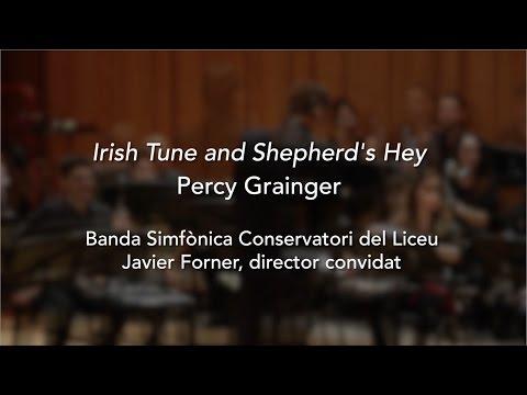 Liceu Conservatory Symphonic Band - 'Irish Tune and Shepherd's Hey' (P. Grainger)