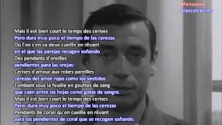 35 ► Le temps des cerises ► Yves Montand Video