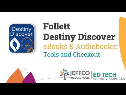 EBooks & Audiobooks Tools & Checkout