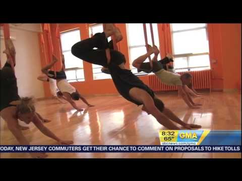 AntiGravity® Aerial Yoga on Good Morning America
